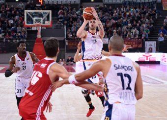 Tommaso Baldasso Virtus Roma - Axpo Legnano Campionato Basket LNP 2018/2019 Roma 06/01/2019 Foto Gennaro Masi / Ciamillo-Castoria