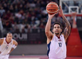 Nic Moore Virtus Roma - Axpo Legnano Campionato Basket LNP 2018/2019 Roma 06/01/2019 Foto Gennaro Masi / Ciamillo-Castoria