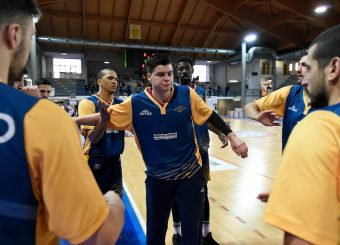 Amar Alibegovic BPC Virtus Cassino - Virtus Roma Campionato Basket LNP 2018/2019 Frosinone 12/01/2019 Foto Gennaro Masi / Ciamillo-Castoria