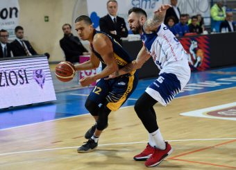 Daniele Sandri BPC Virtus Cassino - Virtus Roma Campionato Basket LNP 2018/2019 Frosinone 12/01/2019 Foto Gennaro Masi / Ciamillo-Castoria