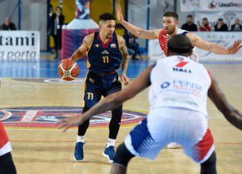 Nic Moore BPC Virtus Cassino - Virtus Roma Campionato Basket LNP 2018/2019 Frosinone 12/01/2019 Foto Gennaro Masi / Ciamillo-Castoria