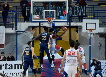 Henry Sims BPC Virtus Cassino - Virtus Roma Campionato Basket LNP 2018/2019 Frosinone 12/01/2019 Foto Gennaro Masi / Ciamillo-Castoria