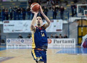 Andrea Saccaggi BPC Virtus Cassino - Virtus Roma Campionato Basket LNP 2018/2019 Frosinone 12/01/2019 Foto Gennaro Masi / Ciamillo-Castoria