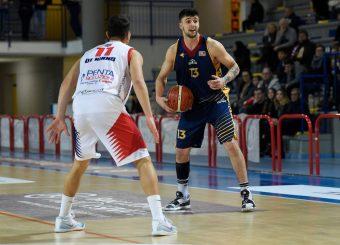 Tommaso Baldasso BPC Virtus Cassino - Virtus Roma Campionato Basket LNP 2018/2019 Frosinone 12/01/2019 Foto Gennaro Masi / Ciamillo-Castoria