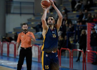 Aristide Landi BPC Virtus Cassino - Virtus Roma Campionato Basket LNP 2018/2019 Frosinone 12/01/2019 Foto Gennaro Masi / Ciamillo-Castoria