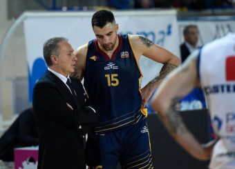 Piero Bucchi Aristide Landi BPC Virtus Cassino - Virtus Roma Campionato Basket LNP 2018/2019 Frosinone 12/01/2019 Foto Gennaro Masi / Ciamillo-Castoria