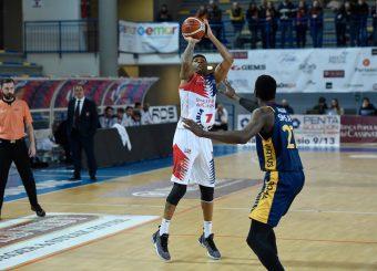 Michael Hall BPC Virtus Cassino - Virtus Roma Campionato Basket LNP 2018/2019 Frosinone 12/01/2019 Foto Gennaro Masi / Ciamillo-Castoria