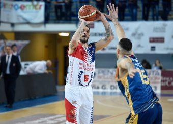 Luca Castelluccia BPC Virtus Cassino - Virtus Roma Campionato Basket LNP 2018/2019 Frosinone 12/01/2019 Foto Gennaro Masi / Ciamillo-Castoria