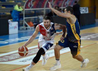 Dalton Pepper BPC Virtus Cassino - Virtus Roma Campionato Basket LNP 2018/2019 Frosinone 12/01/2019 Foto Gennaro Masi / Ciamillo-Castoria