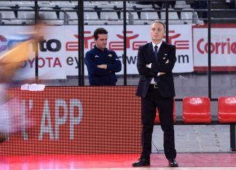 Piero Bucchi Virtus Roma - Benacquista Assicurazioni Latina Campionato Basket LNP 2018/2019 Roma 16/01/2019 Foto Gennaro Masi / Ciamillo-Castoria