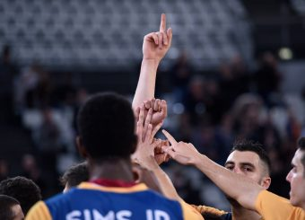 Virtus Roma Virtus Roma - Benacquista Assicurazioni Latina Campionato Basket LNP 2018/2019 Roma 16/01/2019 Foto Gennaro Masi / Ciamillo-Castoria