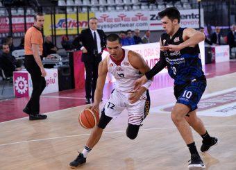 Daniele Sandri Virtus Roma - Benacquista Assicurazioni Latina Campionato Basket LNP 2018/2019 Roma 16/01/2019 Foto Gennaro Masi / Ciamillo-Castoria