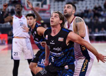 Michael Carlson Virtus Roma - Benacquista Assicurazioni Latina Campionato Basket LNP 2018/2019 Roma 16/01/2019 Foto Gennaro Masi / Ciamillo-Castoria