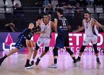 Agustin Fabi Virtus Roma - Benacquista Assicurazioni Latina Campionato Basket LNP 2018/2019 Roma 16/01/2019 Foto Gennaro Masi / Ciamillo-Castoria