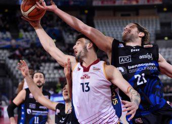 Tommaso Baldasso Valerio Cucci Virtus Roma - Benacquista Assicurazioni Latina Campionato Basket LNP 2018/2019 Roma 16/01/2019 Foto Gennaro Masi / Ciamillo-Castoria