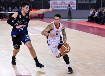 Nic Moore Virtus Roma - Benacquista Assicurazioni Latina Campionato Basket LNP 2018/2019 Roma 16/01/2019 Foto Gennaro Masi / Ciamillo-Castoria