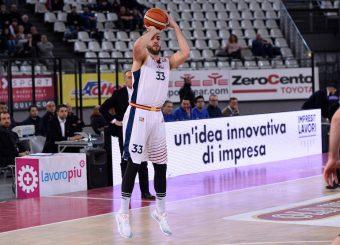 Marco Santiangeli Virtus Roma - Benacquista Assicurazioni Latina Campionato Basket LNP 2018/2019 Roma 16/01/2019 Foto Gennaro Masi / Ciamillo-Castoria