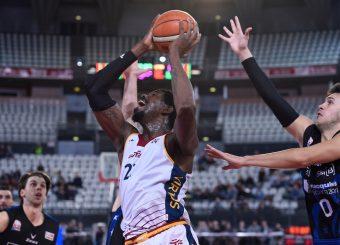 Henry Sims Virtus Roma - Benacquista Assicurazioni Latina Campionato Basket LNP 2018/2019 Roma 16/01/2019 Foto Gennaro Masi / Ciamillo-Castoria