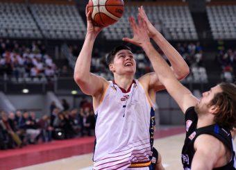 Amar Alibegovic Virtus Roma - Benacquista Assicurazioni Latina Campionato Basket LNP 2018/2019 Roma 16/01/2019 Foto Gennaro Masi / Ciamillo-Castoria