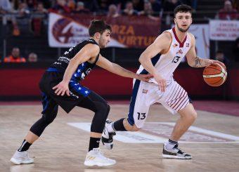 Tommaso Baldasso Virtus Roma - Benacquista Assicurazioni Latina Campionato Basket LNP 2018/2019 Roma 16/01/2019 Foto Gennaro Masi / Ciamillo-Castoria
