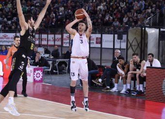 Virtus Roma - Bergamo Campionato Basket LNP 2018/2019 Roma 20/01/2019 Foto Gennaro Masi / Ciamillo-Castoria