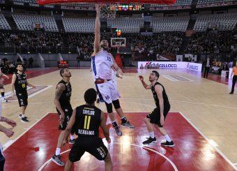 Aristide Landi Virtus Roma - Bergamo Campionato Basket LNP 2018/2019 Roma 20/01/2019 Foto Gennaro Masi / Ciamillo-Castoria