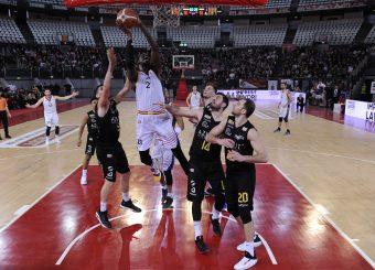 Henry Sims Virtus Roma - Bergamo Campionato Basket LNP 2018/2019 Roma 20/01/2019 Foto Gennaro Masi / Ciamillo-Castoria
