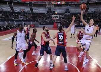 Andrea Saccaggi Virtus Roma - Edilnol Pallacanestro Biella Campionato Basket LNP 2018/2019 Roma 27/01/2019 Foto Gennaro Masi / Ciamillo-Castoria