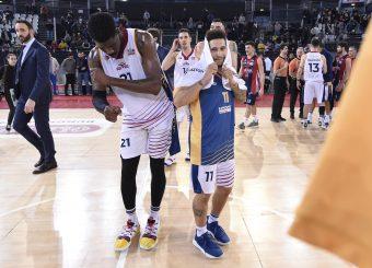 Virtus Roma - Edilnol Pallacanestro Biella Campionato Basket LNP 2018/2019 Roma 27/01/2019 Foto Gennaro Masi / Ciamillo-Castoria