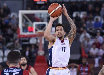 Nic Moore Virtus Roma - Edilnol Pallacanestro Biella Campionato Basket LNP 2018/2019 Roma 27/01/2019 Foto Gennaro Masi / Ciamillo-Castoria