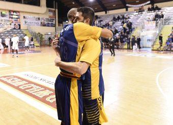 Daniele Sandri Marco Santiangeli Leonis Roma - Virtus Roma Campionato Basket LNP 2018/2019 Roma 31/01/2019 Foto Gennaro Masi / Ciamillo-Castoria