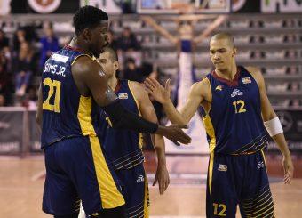 Henry Simsro12 Leonis Roma - Virtus Roma Campionato Basket LNP 2018/2019 Roma 31/01/2019 Foto Gennaro Masi / Ciamillo-Castoria