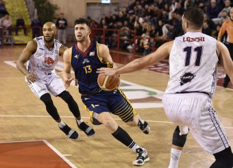 Tommaso Baldasso Leonis Roma - Virtus Roma Campionato Basket LNP 2018/2019 Roma 31/01/2019 Foto Gennaro Masi / Ciamillo-Castoria