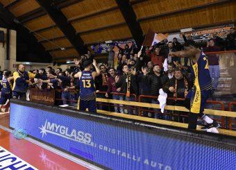 tifosi Virtus Roma Leonis Roma - Virtus Roma Campionato Basket LNP 2018/2019 Roma 31/01/2019 Foto Gennaro Masi / Ciamillo-Castoria