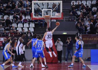 Virtus Roma - Orlandina Basket Campionato Basket LNP 2018/2019 Roma 19/02/2019 Foto Gennaro Masi / Ciamillo-Castoria