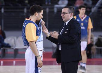 Daniele Michelutti Nic Moore Virtus Roma - Bertram Tortona Campionato Basket LNP 2018/2019 Roma 10/03/2019 Foto Gennaro Masi / Ciamillo-Castoria
