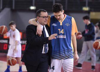 Daniele Michelutti Andrea Saccaggi Virtus Roma - Bertram Tortona Campionato Basket LNP 2018/2019 Roma 10/03/2019 Foto Gennaro Masi / Ciamillo-Castoria