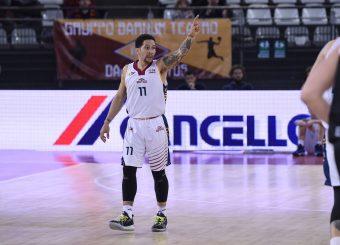 Nic Moore Virtus Roma - Bertram Tortona Campionato Basket LNP 2018/2019 Roma 10/03/2019 Foto Gennaro Masi / Ciamillo-Castoria