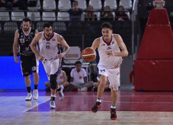 Andrea Saccaggi Virtus Roma - Bertram Tortona Campionato Basket LNP 2018/2019 Roma 10/03/2019 Foto Gennaro Masi / Ciamillo-Castoria