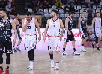 Marco Santiangeli Tommaso Baldasso Virtus Roma - Bertram Tortona Campionato Basket LNP 2018/2019 Roma 10/03/2019 Foto Gennaro Masi / Ciamillo-Castoria