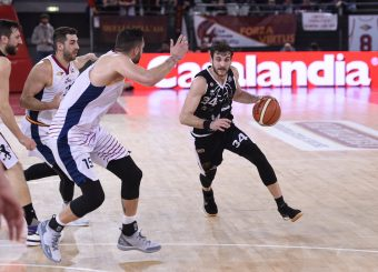 Gabriele Spizzichini Virtus Roma - Bertram Tortona Campionato Basket LNP 2018/2019 Roma 10/03/2019 Foto Gennaro Masi / Ciamillo-Castoria