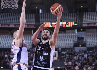 Klaudio Ndoja Virtus Roma - Bertram Tortona Campionato Basket LNP 2018/2019 Roma 10/03/2019 Foto Gennaro Masi / Ciamillo-Castoria