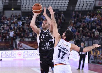 Brett Blizzard Virtus Roma - Bertram Tortona Campionato Basket LNP 2018/2019 Roma 10/03/2019 Foto Gennaro Masi / Ciamillo-Castoria