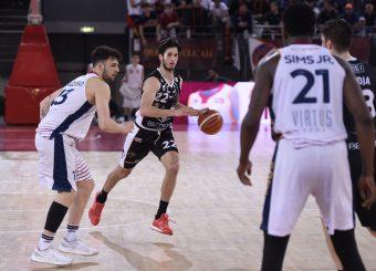 Kenneth Viglianisi Virtus Roma - Bertram Tortona Campionato Basket LNP 2018/2019 Roma 10/03/2019 Foto Gennaro Masi / Ciamillo-Castoria