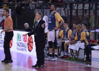 Piero Bucchi Aristide Landi Virtus Roma - Bertram Tortona Campionato Basket LNP 2018/2019 Roma 10/03/2019 Foto Gennaro Masi / Ciamillo-Castoria