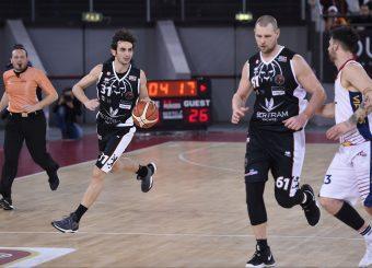 Lorenzo Gergati Virtus Roma - Bertram Tortona Campionato Basket LNP 2018/2019 Roma 10/03/2019 Foto Gennaro Masi / Ciamillo-Castoria