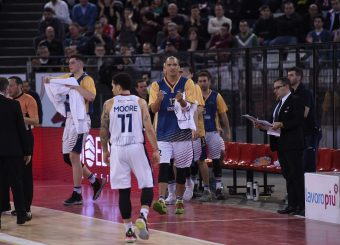 Daniele Sandri Virtus Roma - Bertram Tortona Campionato Basket LNP 2018/2019 Roma 10/03/2019 Foto Gennaro Masi / Ciamillo-Castoria