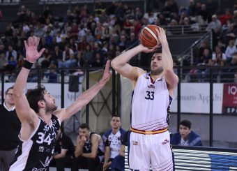 Marco Santiangeli Virtus Roma - Bertram Tortona Campionato Basket LNP 2018/2019 Roma 10/03/2019 Foto Gennaro Masi / Ciamillo-Castoria