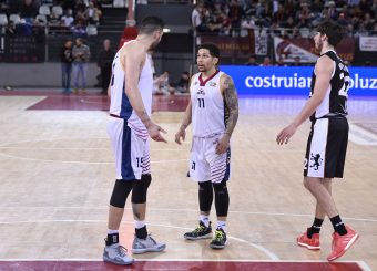 Aristide Landi Nic Moore Virtus Roma - Bertram Tortona Campionato Basket LNP 2018/2019 Roma 10/03/2019 Foto Gennaro Masi / Ciamillo-Castoria