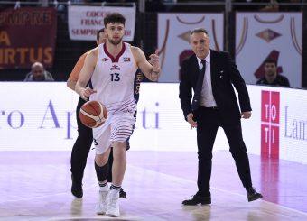 Tommaso Baldasso Piero Bucchi Virtus Roma - Bertram Tortona Campionato Basket LNP 2018/2019 Roma 10/03/2019 Foto Gennaro Masi / Ciamillo-Castoria